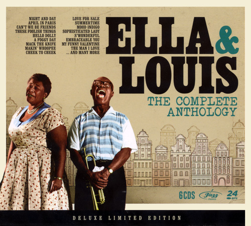 Ella Fitzgerald & Louis Armstrong - Ella & Louis - The Complete Anthology (2015)