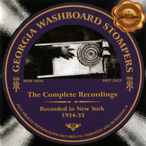 Georgia Washboard Stompers - Complete Recordings (2003)