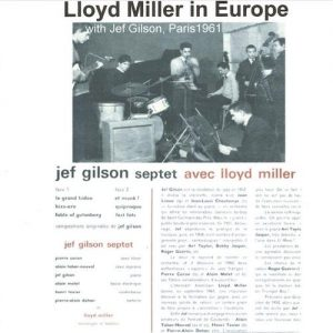 Lloyd Miller - Lloyd Miller with Jazz Greats in Europe (2000)