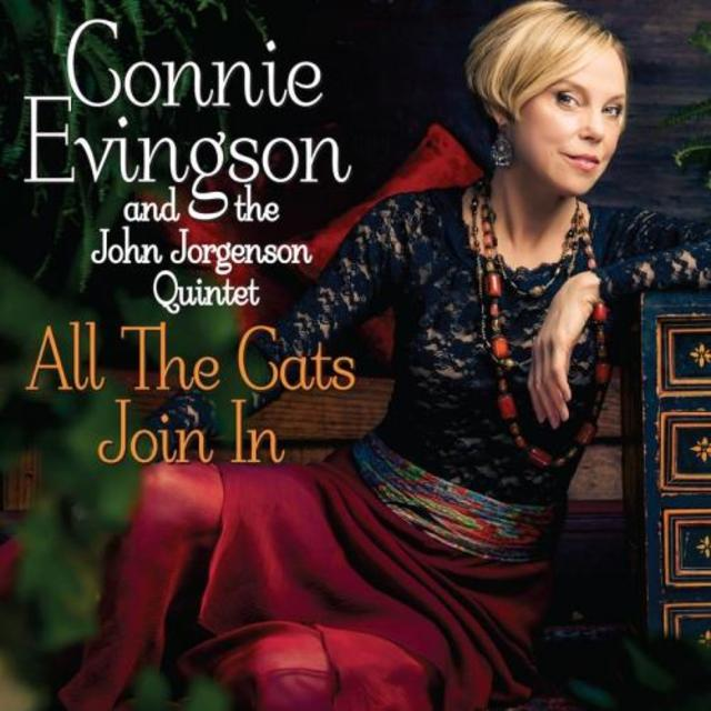 Connie Evingson and the John Jorgenson Quintet - All the Cats Join In (2014)