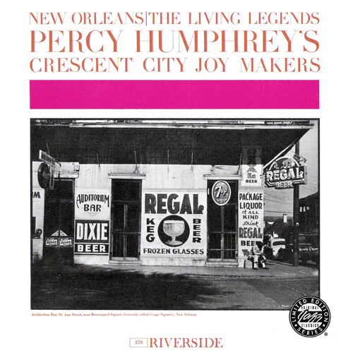 Percy Humphrey's Crescent City Joy Makers - New Orleans: The Living Legends (1961)