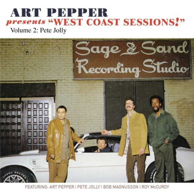 """Art Pepper Presents """"West Coast Sessions!"""" - Volume 2: Pete Jolly (2017)"""
