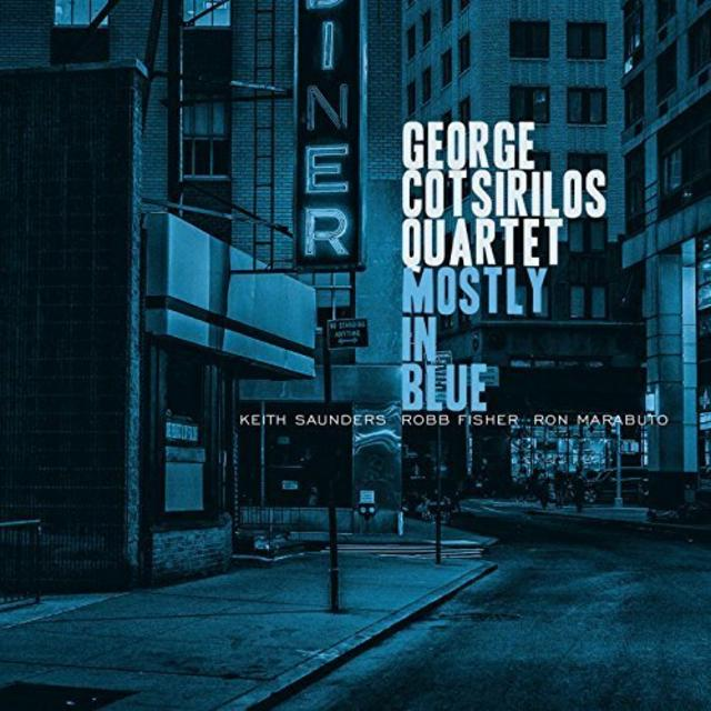George Cotsirilos - Mostly in Blue (2018)