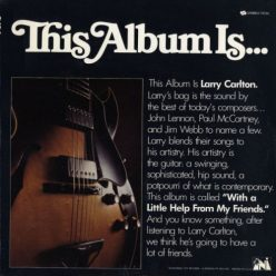 Larry Carlton - With A Little Help From My Friends (1968)