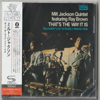 Milt Jackson Quintet feat. Ray Brown - That's The Way It Is (1970/2016)