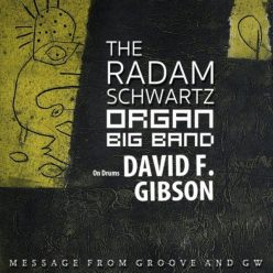 The Radam Schwartz Organ Big Band - Message from Groove and Gw (2020)