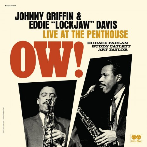 """Johnny Griffin & Eddie """"Lockjaw"""" Davis - Ow! Live at the Penthouse (2021)"""